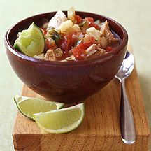 Weight Watchers - Slow Cooker Chicken Posole (Mexican soup) - 7 Points Plus
