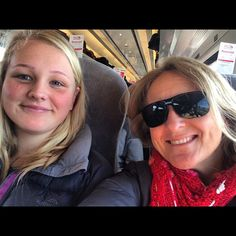 https://flic.kr/p/rqyeGZ | Train 2 to Leeds :) Having fun on the UK trains with @tashfrost__ ! #upsticksandgo #leeds #uk #traintravel #train #travel #motherdaughtertime #michfrost #travellingtheworld
