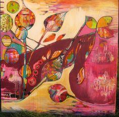 40x40 acrylic on canvas