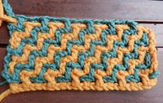 This looks like an interesting stitch to try.  Maybe start with a potholder and see how it goes.