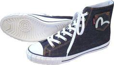 Evisu Dotonbori Denim Shoes