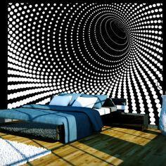 murando - Fototapete 350x270 cm - Vlies Tapete - Moderne Wanddeko - Design Tapete - Wandtapete - Wand Dekoration - Abstrakt 100401-35: Amazon.de: Baumarkt