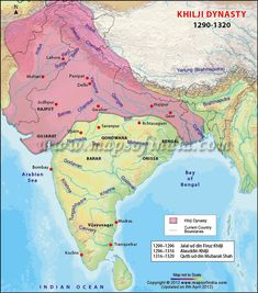 The Khilji Dynasty ruled over parts of South Asia and originated from the Turko-Afghan Khalaj. The Khilji Dynasty was founded by Jalal-ud-din Khilji who had overthrown Balban's successors.
