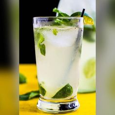 The Doctors Daily Tonic....... Coconut Mojito  4-5 Mint Leaves  3-4 Lime Wedges 1 Teaspoonful Sugar  2 oz Coconut Rum 1/2 Fill Club Soda 1/2 Fill 7-Up  In a mixing tin add the mint limes and sugar. Gently muddle then add ice. Add the coconut rum and roll 3 times into a tall glass. Fill the glass with equal amounts of club soda and 7-Up. Garnish with mint and a lime wedge.  #thedrinkdoctorlongisland #yourprescriptionforfun #mixology #mixologist #waitress #waitstaff #party #bartender…
