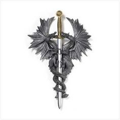 Dragon Dagger Wall Plaque by LKZ - http://www.lexiskreationz.net/dept-201-pfid-36247