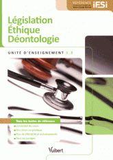 Législation Ethique Déontologie UE 1.3