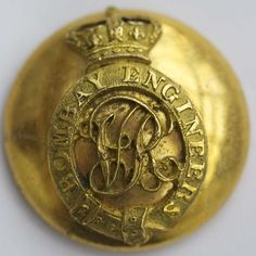 India Bombay Engineers Victorian officer's large button | eBay