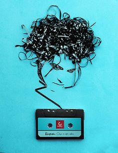 Robert Smith from cassette tape