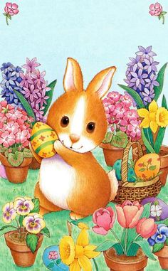 Country – manosalaobratv Bunny Art, Bunnies, Pikachu, Blessed, Easter, Country, Character, Easter Greeting Cards, Rabbit