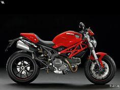 Sporty Red Ducati