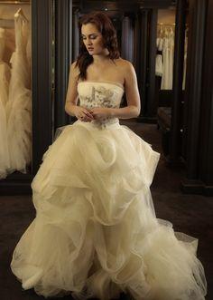 Blair Waldorf wedding dress   Vera Wang Gisele Gown