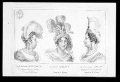 [Retrato de Carlota Joaquina de Borbón]. Grabado — ?