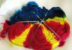"""cresting wave"" tie-dye design | community of dyers"
