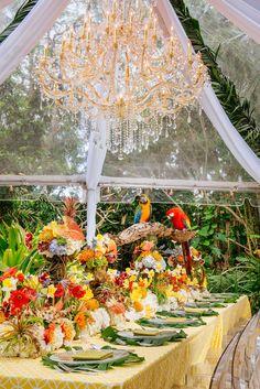 wedding centerpiece idea; Event: Alore' Event Firm