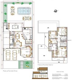 switch the theater area and kitchen and make that the S side of the house U Shaped House Plans, U Shaped Houses, Small House Plans, House Floor Plans, Small Villa, Duplex Plans, Craftsman Floor Plans, Cargo Container Homes, Bungalow House Design