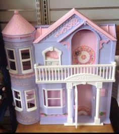 Barbie Victorian Dream House purple