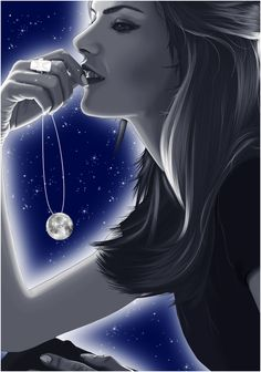 *Got The Moon On A String.......  Moon Love