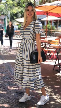 Curvy Outfits, Classy Outfits, Dress Outfits, Casual Dresses, Casual Outfits, Summer Dresses, Frock Fashion, Fashion Dresses, Cotton Dresses
