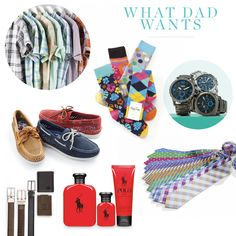 Dad deserves it! From brand names like Polo Ralph Lauren, Sperry & Happy Socks to dress shirts, accessories & fragrance, Dad deserves the best. Find the perfect gift for the Dad with a style all his own.