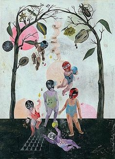 Olaf Hajek is a German-based illustrator, painter, artist, graphic designer and author. Art And Illustration, Collage Kunst, Collage Art, Olaf, Pablo Picasso, Collages, Berlin, Surrealism Painting, Photocollage