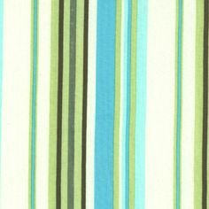 Amy Butler - Daisy Chain - Happy Stripe in River