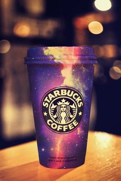 Starbucks galaxy cups should make them all this way :P