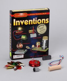 Take a look at this Inventions Book & Kit on zulily today!