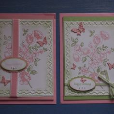 Birthday cards - I love this stamp set - Elements of Style