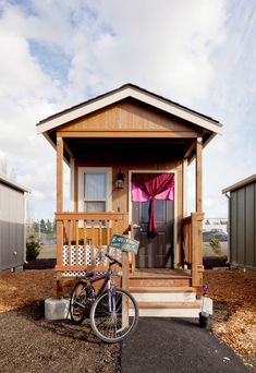 Small World, Big Idea - NYTimes.com Tiny homes for the (formerly) homeless and a vision of a true democracy