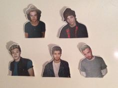 One+Direction+Sticker+Pack+by+KaoticStickers+on+Etsy