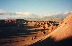 Las Dunas de arena del desierto de Atacama, Chile  Foto: clearlycool
