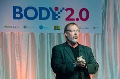 Co-founder and Keynote Speaker Dr. Alan Greene kicks the day off at Body 2.0. Photo by Cheryl Hornbaker.