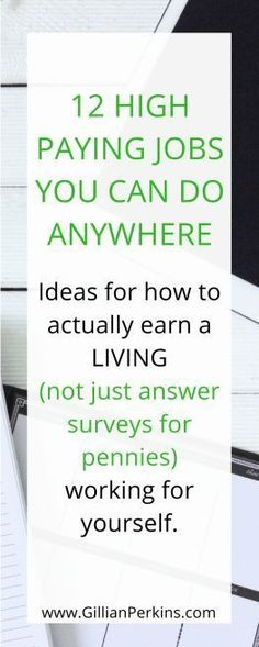 12 high paying work-at-home jobs you can do anywhere