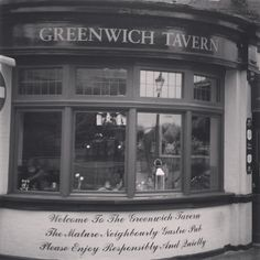 Greenwich Pub (Greenwich Pub) - Londres, Reino Unido (London, UK) - iPhone 4S & Instagram Copyright © Juan Hernandez Orea
