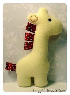 adorable tiny stuffed giraffe :-)