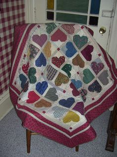 #joscountryjunction Hearts--Perfect Valentine's Day Quilt!