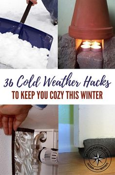 36 Cold Weather Hacks to Keep You Cozy This Winter — It's that time again-whether we love it or dread it, the holidays are upon us. For a lot of us, that also means it's about to get so, very cold. The kind of cold that keeps us in bed, or in the hot shower.