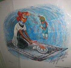 Kachina-Mana/Kachina Maiden Native American Southwest Art Signed by Artist #NativeAmerican