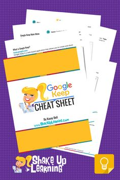 Google Keep Cheat Sheet