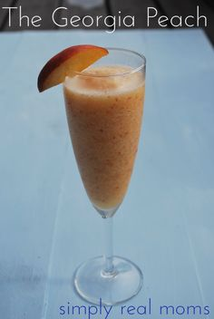 The Georgia Peach: This summer daiquiri is a MUST-TRY!  So good and easy to make!