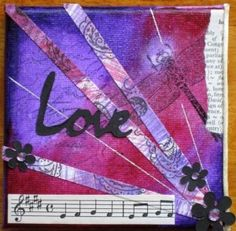 mixed media art arrangement good background layout
