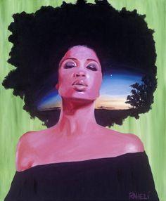 Black Women Art!, The Newness of Morning.  Artist: Raheli's Brush ...