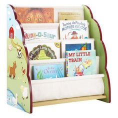 Guidecraft Kids Stacking Bookshelf