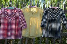 Obsessed with the black gingham top. How cute with leggings and boots this fall? Link to the pattern in the post.