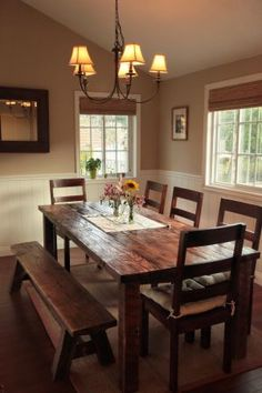 Another rustic table project idea