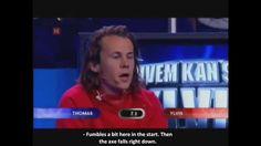 Wood Cleaving (Eng. subtitles) - Hvem kan slå Ylvis?