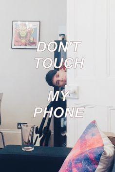 Dan Howell phone background