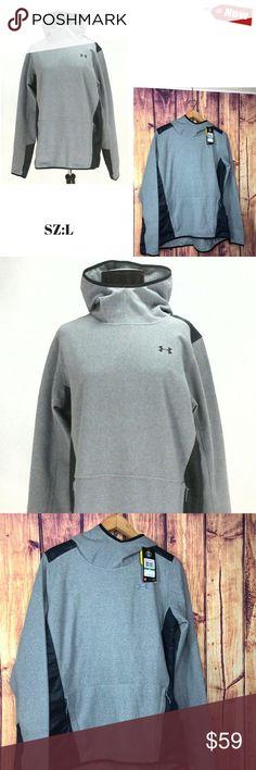 NWT$65 Under Armour UA Storm Armour Extra Thick Fleece Lined Hoodie Mens 3XL