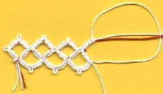 Tatting Square Rings: I had once done an article on Tatting square rings but didn't have pictures due to some technical difficulty (I had no idea how to embed them. LOL). Where here's a site with the pictures and a wonderful tutorial.