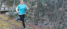 Trail Running with RaesWear's Pouch Pants - hands free is the way to go!